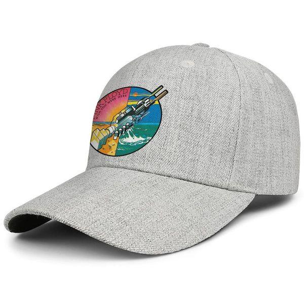 Wish You Were Here Pink Floyd custom Men womens snapback Adjustable trucker hat Travel Bucket ball hats Outdoor grey
