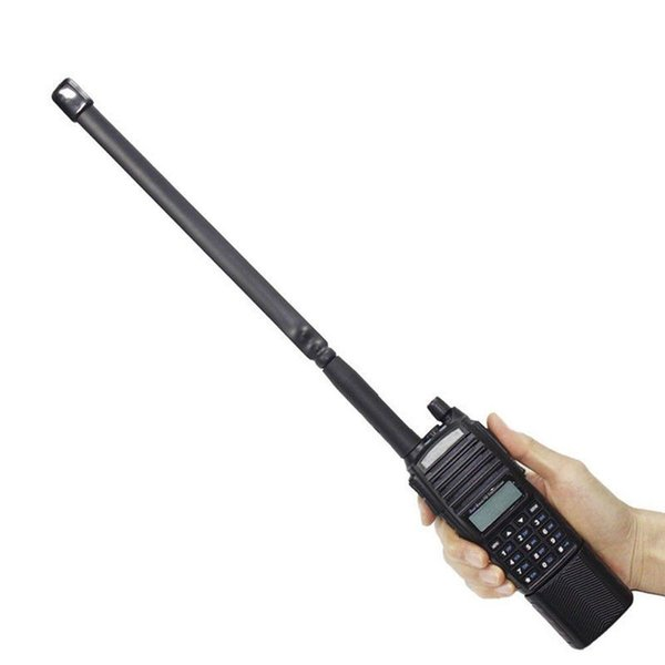 Foldable SMA Female Dual Band VHF/UHF Tactical Antenna for Baofeng UV-5R/82 GL Drop shipping