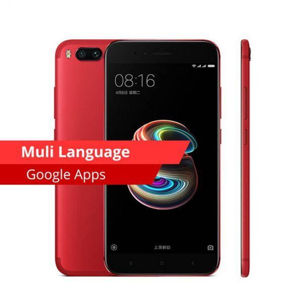 100% New Original Xiaomi Mi 5X Mi5X Mobile Phone 4GB 64GB Snapdragon 625 CPU Dual 12MP Camera 1920x1080p Full Metal Fingerprint