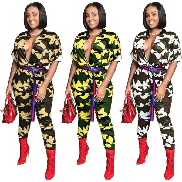 Womens sexy Jumpsuits Backless Leopard skinny Rompers panelled Deep V sleeveless Bodysuit many colors skinny sexy clothing klw0881