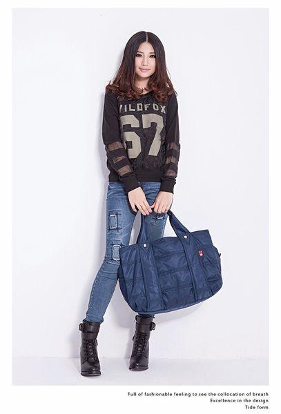 WaterProof Travel Bag Nylon Large Capacity Women Bag Folding Travel Bags Hand Luggage Packing Cubes Organizer