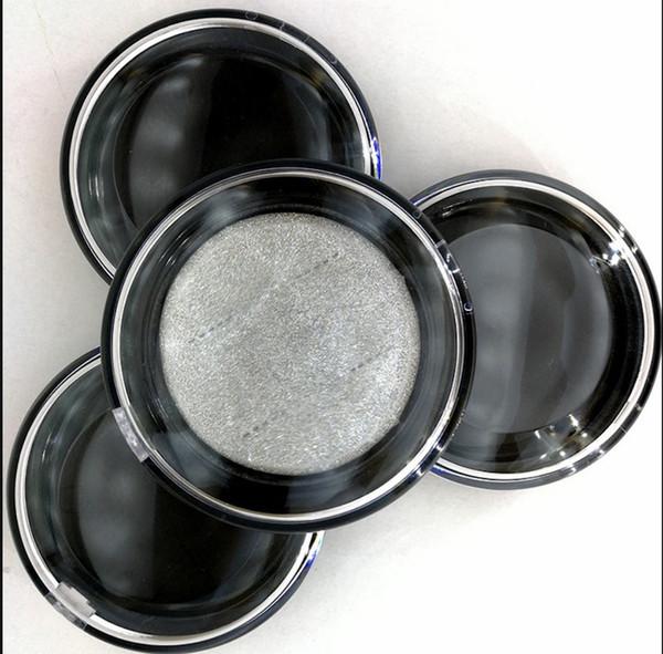 Round Eyelash Case False Eyelashes Packaging Box thickened acrylic eyelash sorting box empty package Tools 30 sets