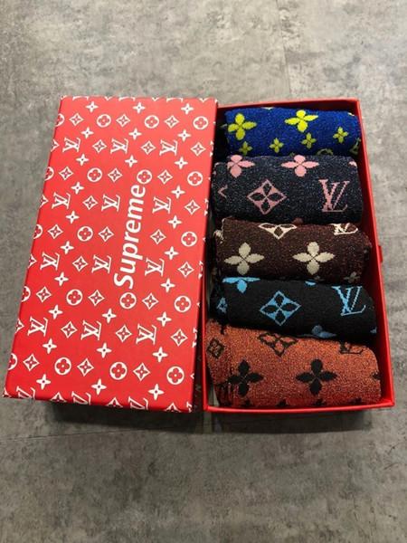 2019 новые мужские и женские высококачественные хлопчатобумажные носки 031005