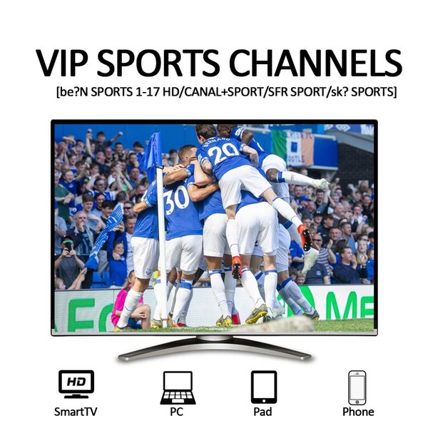 French IPTV Subscription with 6000+ tv channels sports channel USA CA Arabic Portugal UK IT abonnement iptv HD series VOD