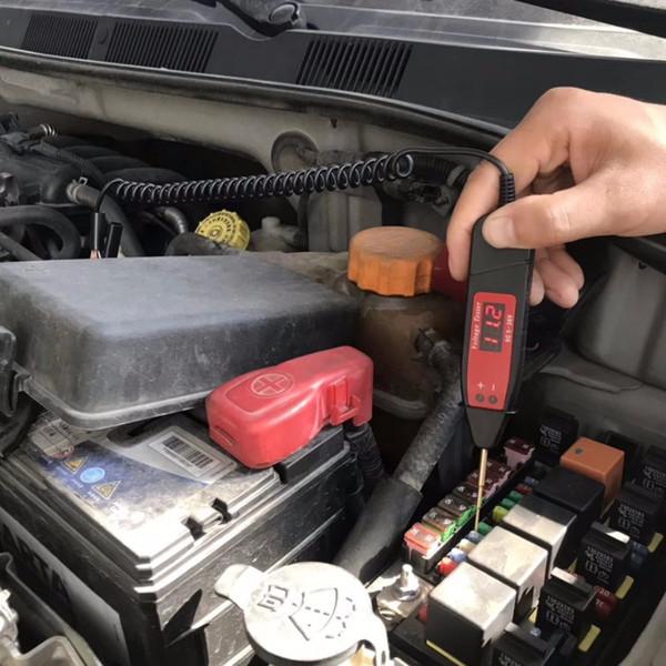 5-36v Special for car repair Test pen Digital display Automotive voltage detection pen Detection light Automotive circuit test
