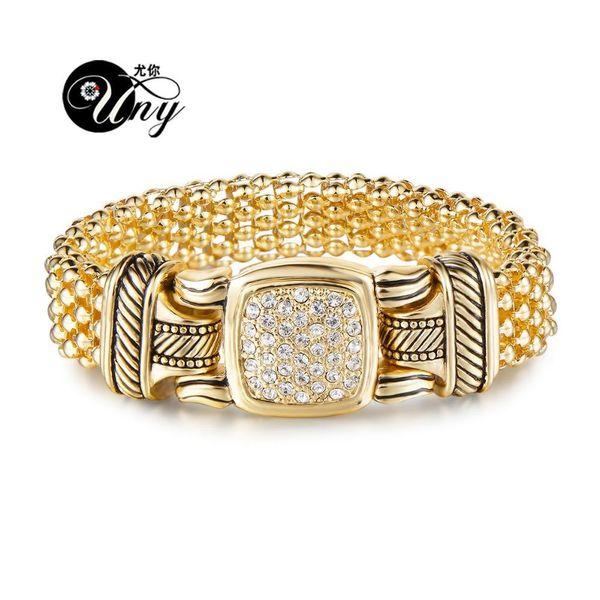 Regalo di Natale UNY designer di gioielli ispirati lega Bracciale Bracciali personalità dei braccialetti Bracciale antico dell'annata