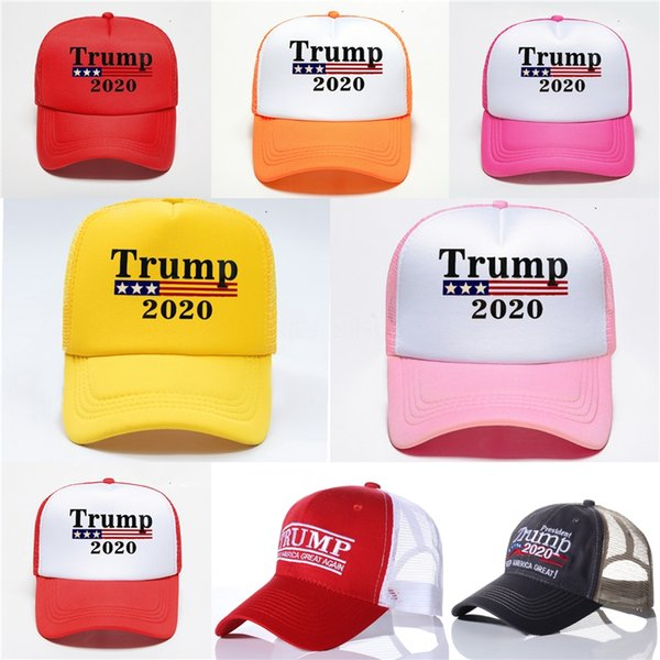 11 styles new president donald trump 2020 hat usa flag star camouflage baseball cap men women cotton hip hop snapback caps hats n92y #397 thumbnail