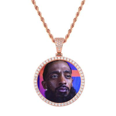 Rose Gold with 20in Rope Chain