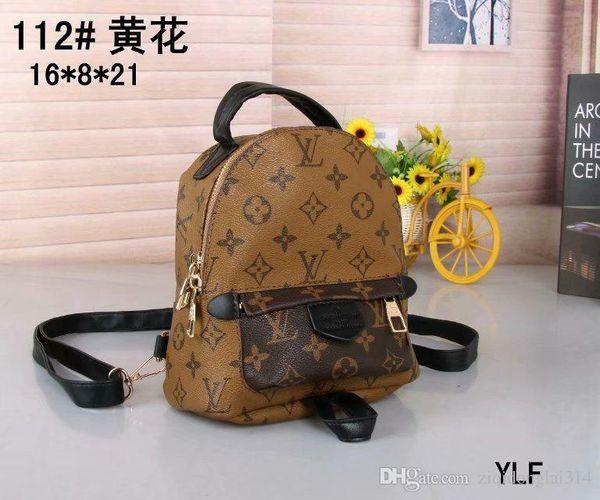 Free ship High quality brands Womens Backpacks Women Bags female PU Leather Ladies Travel Bag
