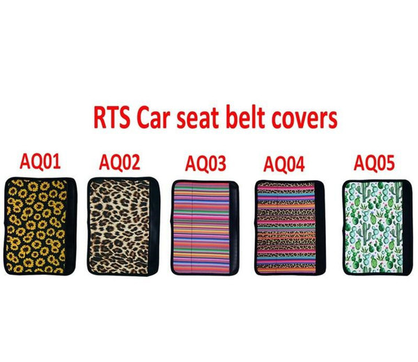 Swell New Seat Belt Covers Sunflower Neoprene Car Shoulder Pad Auto Seatbelt Strap Sleeves Cactus Leopard For Wedding Party Favor Xmas Gift Bags Xmas Gift Unemploymentrelief Wooden Chair Designs For Living Room Unemploymentrelieforg
