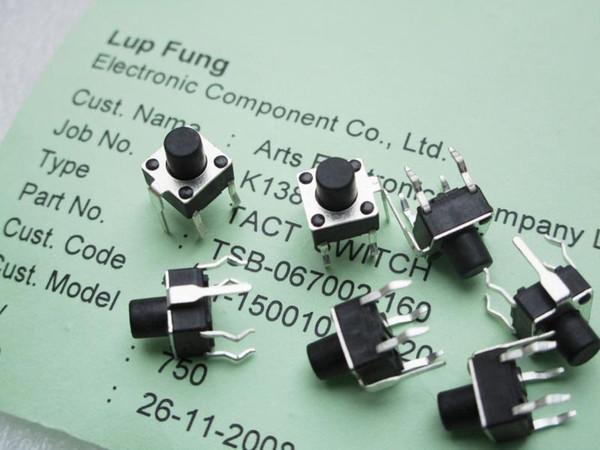 Hong Kong Lup Fung 6 * 6 * 7 Interruttore a pulsante touch 5 piedi