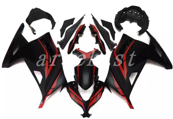 New Motorcycle Bodywork Fairing Kit For Kawasaki Ninja 300 EX300 Ninja300 2013 2014 2015 13 14 15 Fairings Injection Molding red black matte