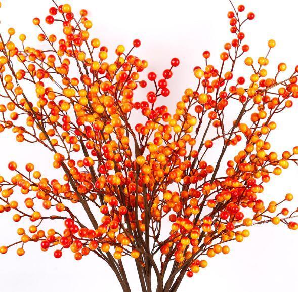 2019 Jiukou Berry Simulated Plant Living Room Flower Arrangement Dining Table Fake Flower Whole Flower Arrangement WL502