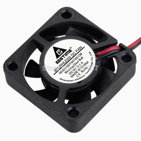 Fan Fans Cooling 3 Pcs/lot Gdstime 40mm x 10mm 2Pin 0.1A 5V DC Brushless Ball Bearing Cooling Fan