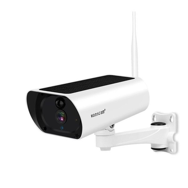 Wanscam K55 Solar Power 1080P WiFi IP Camera 4X Zoom 2-way Audio Wireless Security Surveillance Outdoor Battery Powered