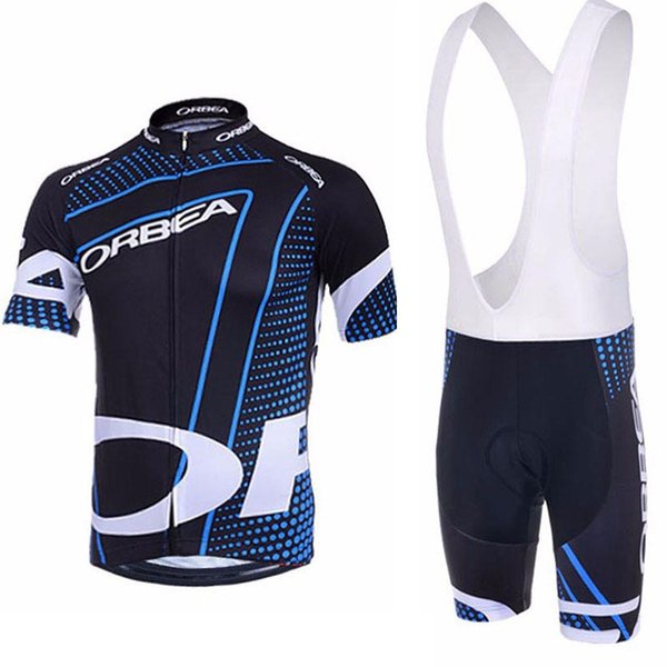 Triathlon 2019 ORBEA Pro Team Anti-UV Radtrikot Set MTB Fahrradtrikots Atmungsaktive Fahrradbekleidung Herren Kurzarm Maillot Ropa Ciclismo
