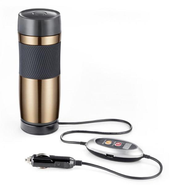 Wasserkocher Warmwasser Kochen 12 V Auto Montiert Reiselkw Wärmedämmung Heizung Cup Auto Teekanne Kessel Flasche