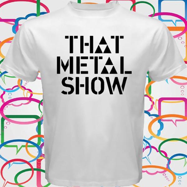 CE MÉTAL SHOW T-Shirt Blanc Eddie Coffre Talk Show Homme Taille S M L XL 2XL 3XL