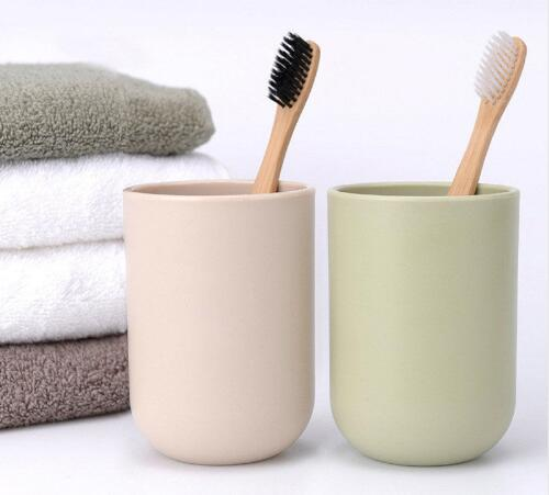 Home Eco-friendly Bamboo Toothbrush Charcoal Soft Fine Bristles Bamboo Handle