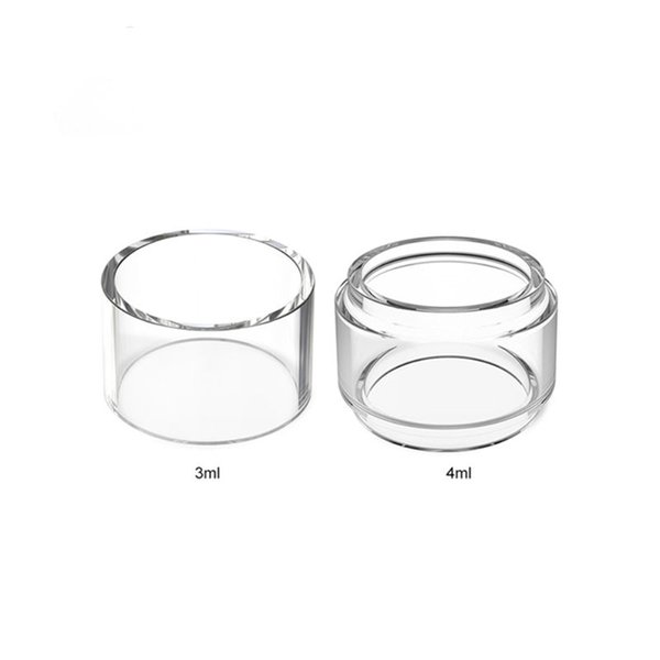 DHL Fast Shipping Replacement Glass Tube Straight Bubble for Advken Owl Tank 3ml/4ml Sub Ohm Tank 25 MM Atomizer
