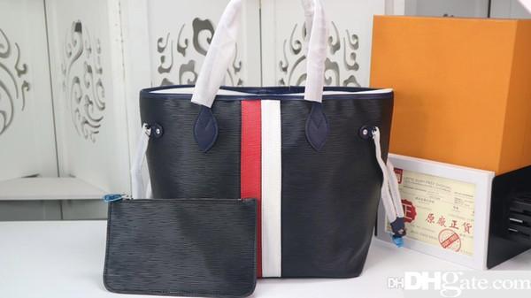 19Design Umhängetasche Damen Business Casual Ledertasche Marke Klassische Handtasche Designer Top Handtasche M53761 32 X 29 X 17 cm