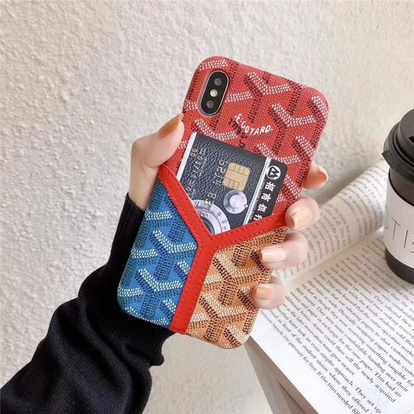 Multi Colors Anti-Konck für Iphone 7 Plus Hülle Stilvolle ultradünne Schutzhülle mit seitlicher Geldbörse für Iphone XS XS XR 8 8Plus Hülle
