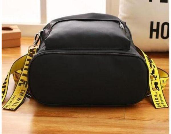 off white designer rucksäcke mode markenname reisetasche schulrucksäcke große kapazität tote schulter marke taschen