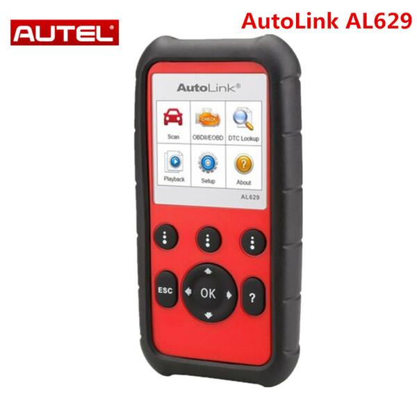 Autel AutoLink AL629 Code Reader As ML629 for ABS/SRS/Engine/Transmission Better Auto scanner AL619