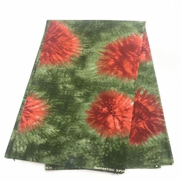DF! Ghana Kente Wax Fabric Veritable Wax African Kente Stampa tessuto Real Java per tessuti in 6 yards! J31302
