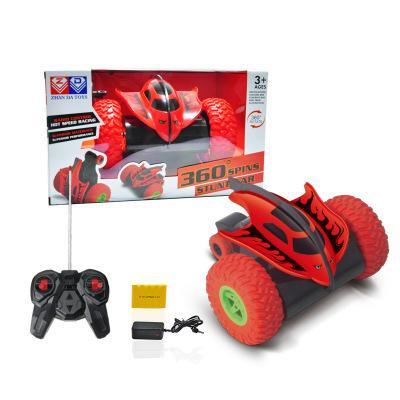 Controle remoto carro Diabo peixe 360 graus de rotação stunt Sem Fio Luz colorido brinquedo do carro crianças Grande quantidade de eletricidade Jogar mais longa