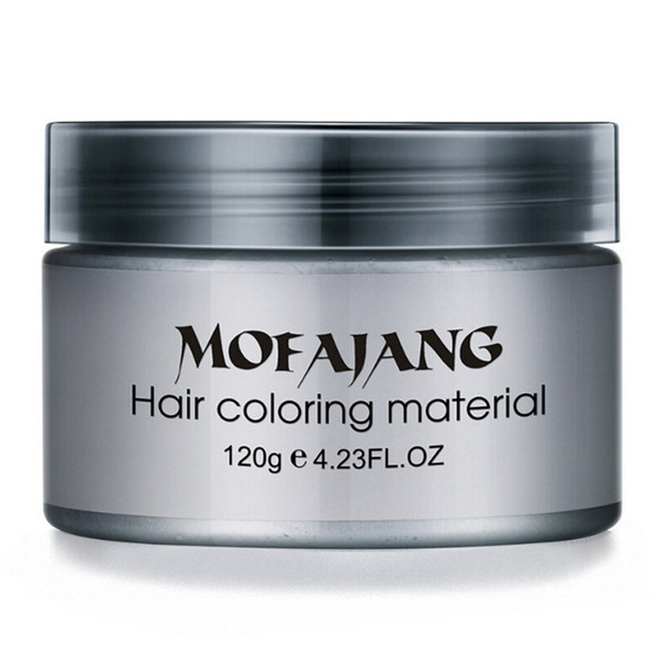best selling Mofajang hair wax for hair styling Mofajang Pomade Strong style restoring Pomade wax big skeleton slicked