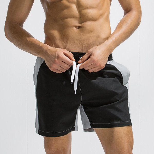 SAGACE Summer Swimsuit Swimwear Men swimming Trunks Patchwork Briefs mayo Surf Board Beach Shorts Bandage Maillot De Bain Boxer