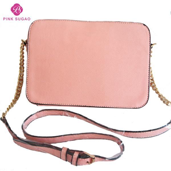 Pink Sugao Bolsos de lujo Bolsos de mujer Bolso y bolso de cuero de diseño Multi color Crossbody Bolsos para mujer Marca Beach Bag MX190819