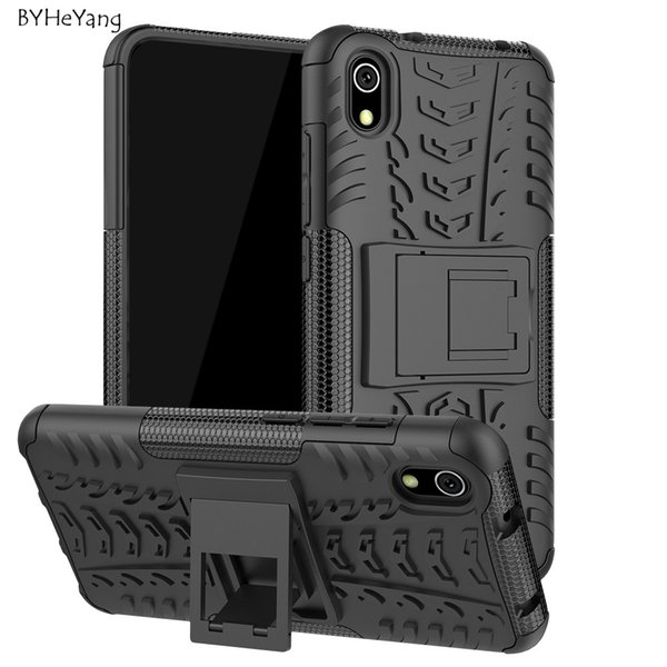 4 Cover 7A Case Shockproof Armor Shell Hard Rubber Silicone Phone Case for Xiaomi Redmi 6A Cover for Xiaomi