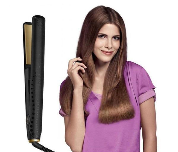 Electric Ceramic V Gold Max Hair Straightener Classic Professional styler Fast Hair Straighteners Iron Hair Styling Tool