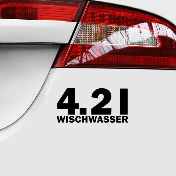 2018 157cm 42 L Wischwasser Liter Tuning Sticker Aufkleber Jdm Vinyl Car Wrap Interesting Fashion Sticker Decals From Xymy777 392 Dhgatecom