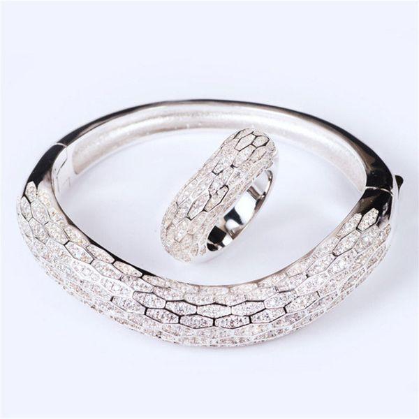 Fashion Animals Rings Designer Bracelets Classic Snake Rings Exquisite Bangles Fashion Bracelet Wedding Rings Luxury Snake Bangle Lover Gift