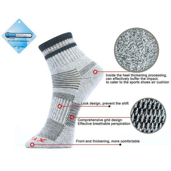 Yeni Unisex Termal Rahat Kış Sıcak Çorap Mens Womens Açık Havada Rahat Çorap Coolmax Ücretsiz Kargo