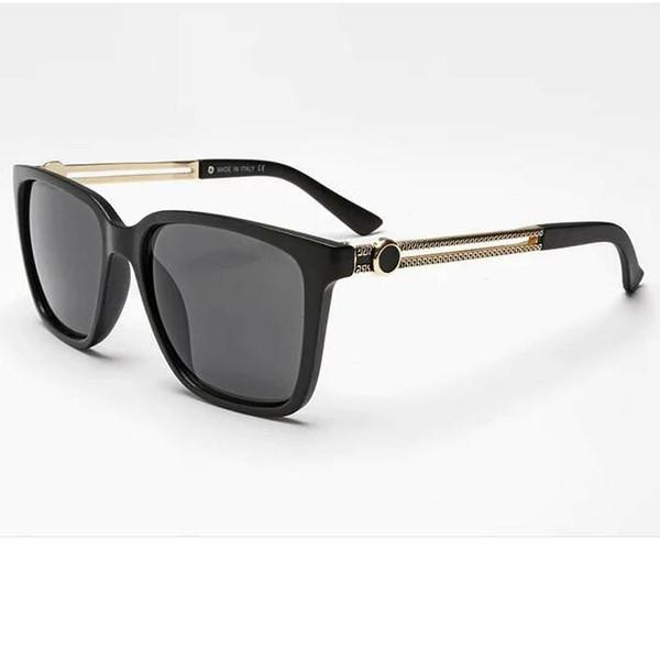 2019 óculos de sol de grife de óculos Homens Mulheres Europa / EUA Hot Retro Goggles4 Cores Mulheres Mens Sunglasses Qualidade