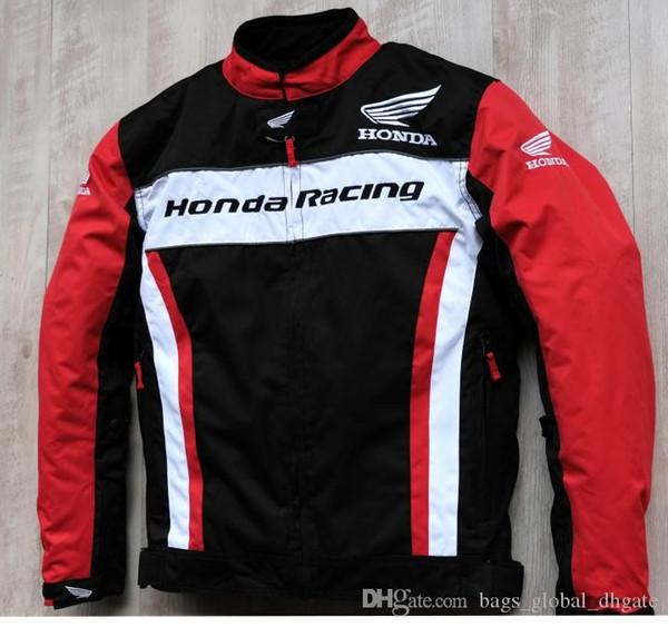 19 Marca casaco de Moto Cross-country tamanho Moda Unissex Estilo Windproof Além disso Zipper Outdoor ciclismo jaqueta de inverno Honda 719