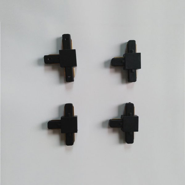 4 adet siyah T konektörü