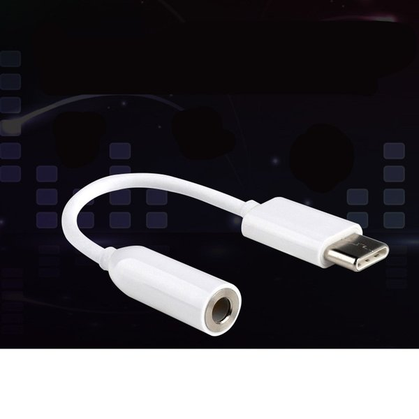 best selling Earphone Headphone Adapter Converter Cable For Type c Light Portable Multi Device Compatibility Audio Aux Connector 1 85yd Ww