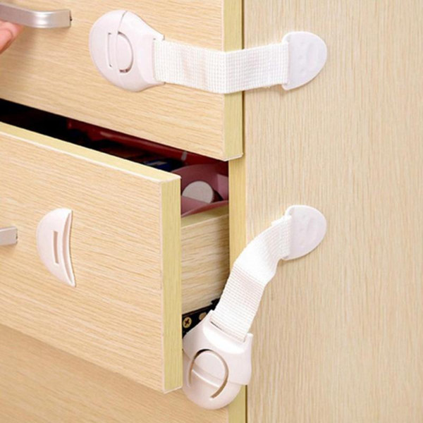 Kindersicherung Baby-Sicherheits-Schutzgehäuseschloss für Kühlschränke Schublade Kids Safety Plastikbaby Security Products