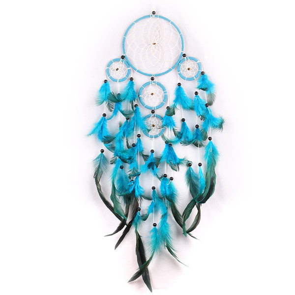 Multi Rings and Multi-tiered Navajo Native American Style Dream Catcher