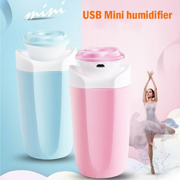 Portable USB Mini Cup Aromabefeuchter Luft Öl Diffuser Nebel Purifier Auto-Haus
