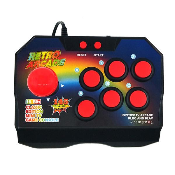 Nuove console per videogiochi retro-joystick a 16 bit con 145 giochi arcade