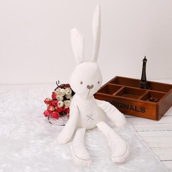 New Kids Children Baby Girls Cotton Beige Blend Plush Long-legged 50cm/19.7inch Rabbit Doll Toys