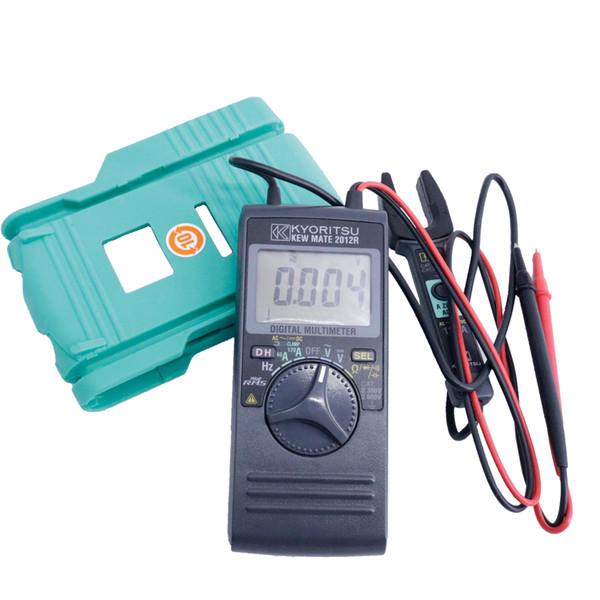 Multimètre numérique AC / DC KYORITSU 2012R 200mA Mesure du courant lors d'un test de continuité