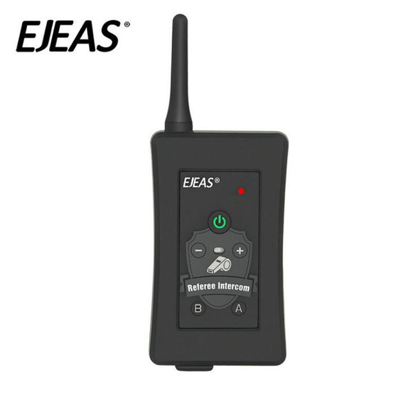 4 PCS Football Schiedsrichter Intercom Headset Bluetooth Vnetphone FBIM 1200M drahtlose Echtzeit Full Duplex BT Interphone + FM 800Mah