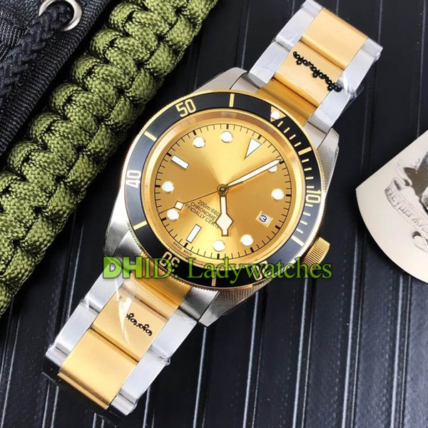 Luxury Mens Watches M79230B-0008 41mm 316L Stainless Steel Mehcanical 8215 Automatic Watch Sapphire Diver Swim Wristwatches montre de luxe